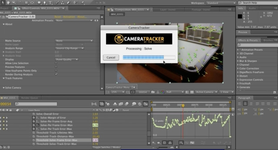 AE + C4D + Foundry 3D Camera Tracker Tut! on Vimeo