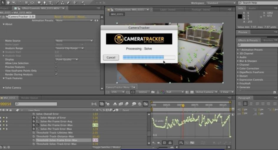 AE + C4D + Foundry 3D Camera Tracker Tut! on Vimeo