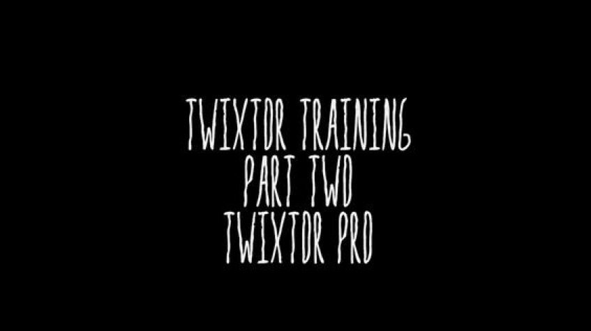 Twixtor Tutorial Part Two _ Darrienia on Vimeo