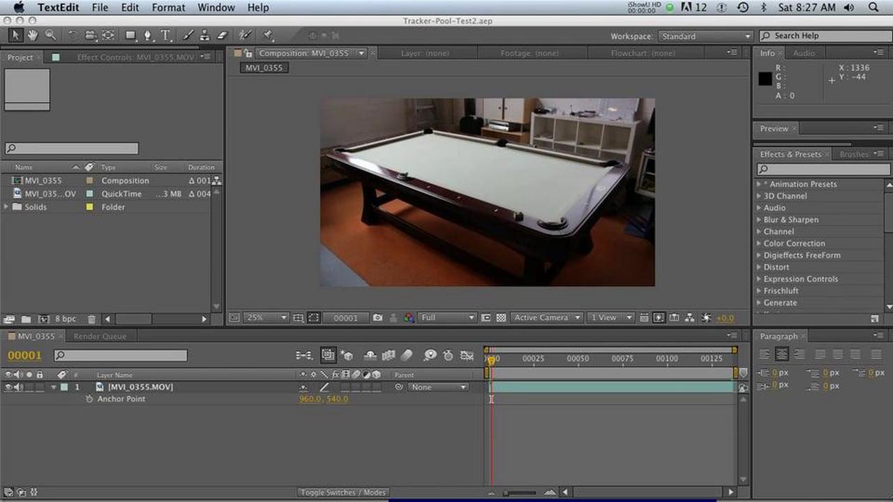 AE + C4D + Foundry 3D Camera Tracker Tutorial