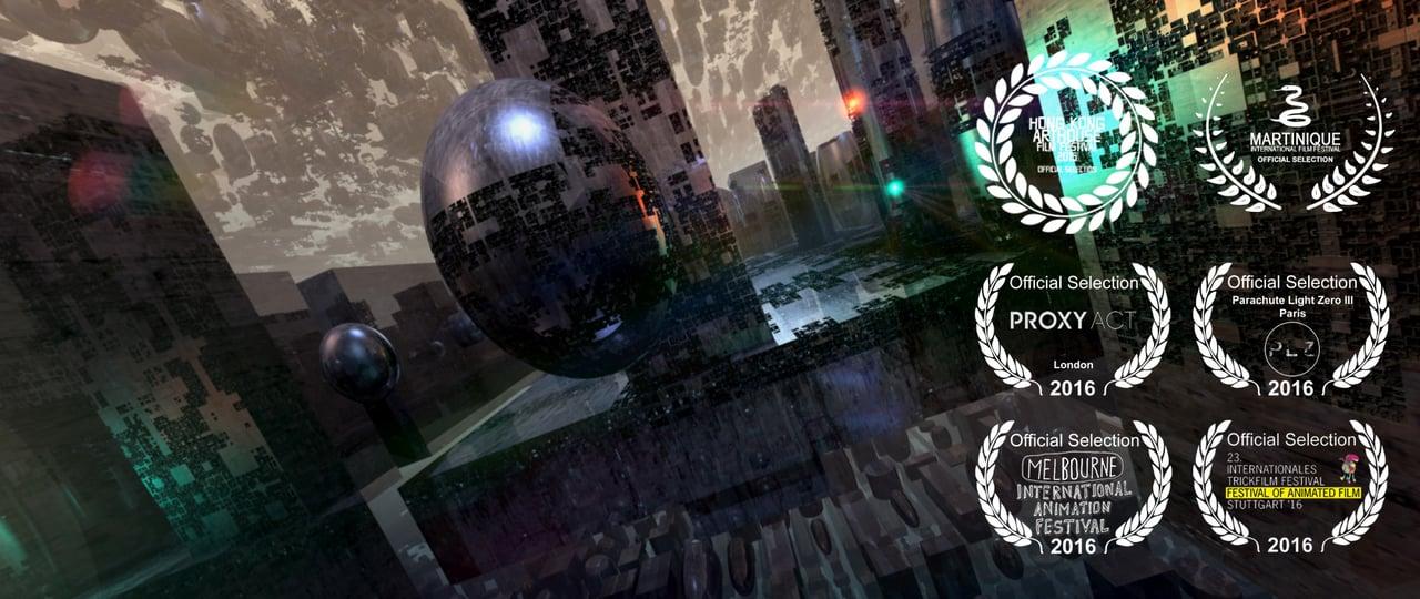 Bladerunner inspired 3d fractal animated music video