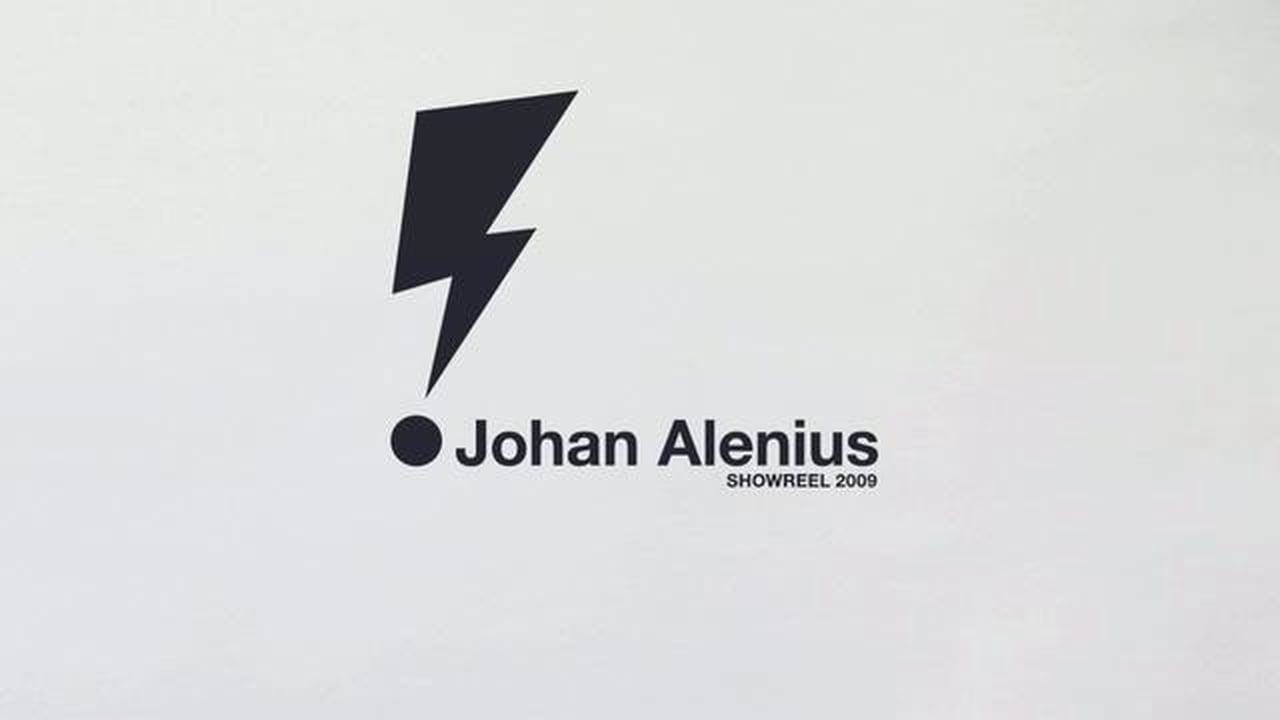 Johan Alenius Showreel 2009