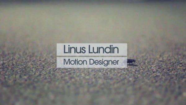 Linus Lundin – Showreel 2010