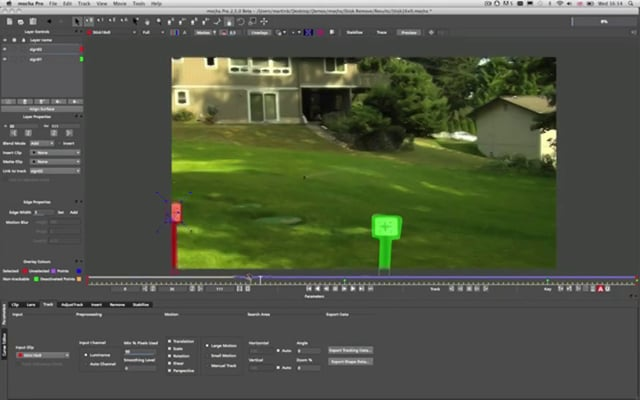 Mocha Pro: remove and clean plate tutorial