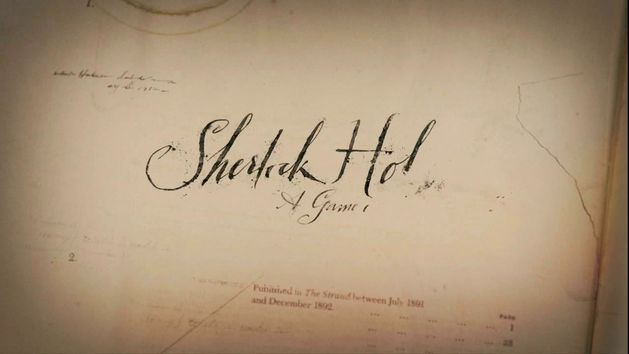 Sherlock Holmes : A Game Of Shadows end credits sequence