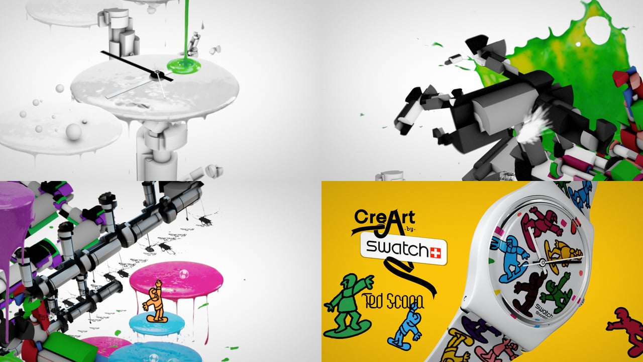 Swatch Creart / Grems