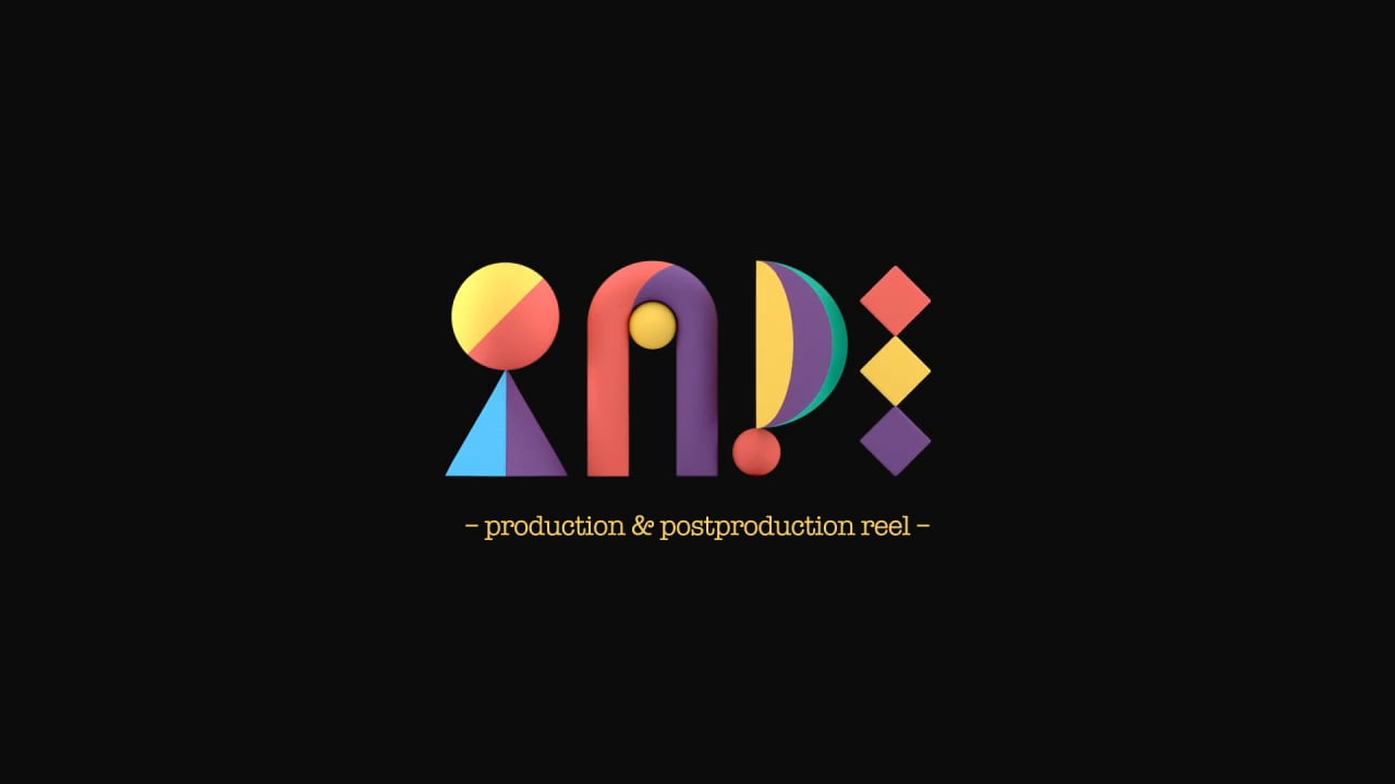 TAPE | Production & Postproduction Reel