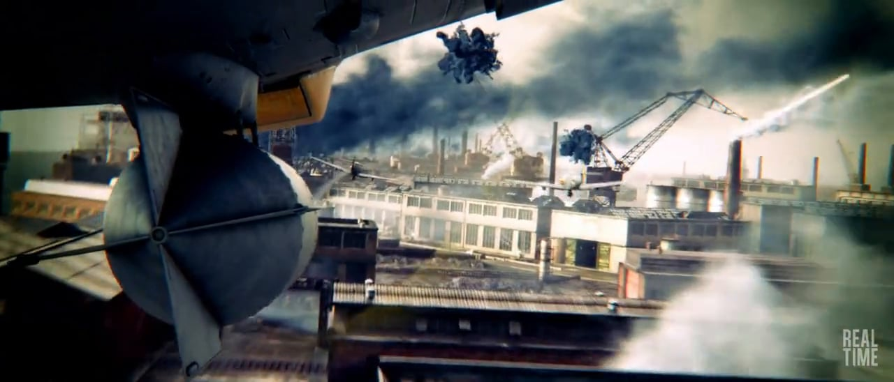 World of Warplanes Game Trailer 2 by Realtime UK