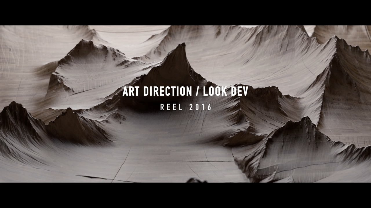 Art direction – Look dev reel by Blackpixels