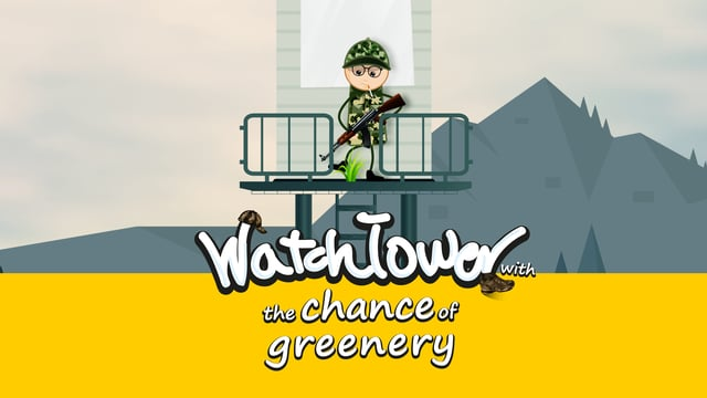 watchtower with the chance of greenery-short animation