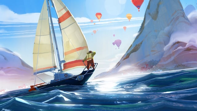 OLD MAN'S JOURNEY – sailing