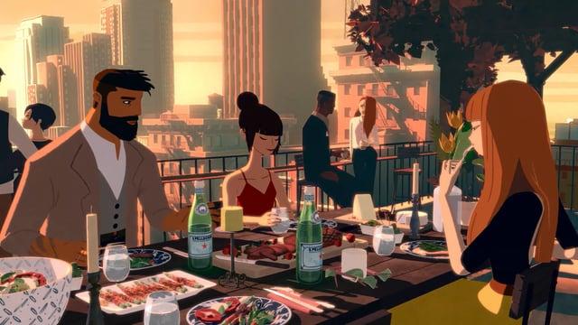Studio AKA // San Pellegrino 'Dining By Starlight'